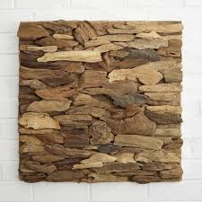 Driftwood Wall Art Panel Home Design Ideas Abstract