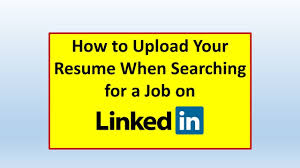 How Do I Upload My Resume On LinkedIn Jobs - How To Upload A Resume On  LinkedIn Upload Resume Indeed Floatingcityorg How To On 8228 Do You A Online Genuine Top 10 Rsum Tips Should Your On Sites Like For Jobs Best To In India Quora Submit Pause Google Drive Pc Or Mac 6 Steps Skills Add Admirably Convert Your Linkedin Profile A Beautiful Resume I My Email An Employer