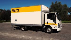 Hertz 22 Cubic Metre Van Taillift Operation (Can Be Driven On A ...