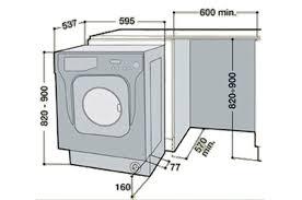 lave linge a hublot largeur dimension d une machine a laver a hublot maison design bahbe