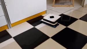 Irobot Roomba Floor Mopping by Irobot Braava 390t Floor Mopping Robot Wet Wipe 6 5 M2 Youtube