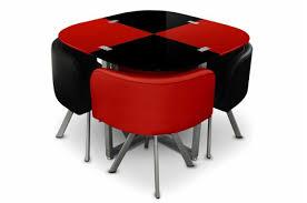 table et 4 chaises table repas damier 4 chaises et noir tables à manger pas cher
