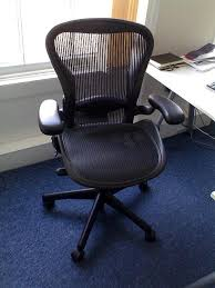 Aeron Chair Size A Vs B by Michigan Made Aeron Chair Was Designed To Break Away From