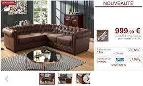 ventes uniques canapes canapé d angle chesterfield en microfibre vieillie chocolat canapé