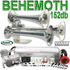 Amazon.com: BEHEMOTH Triple Trumpet Train Horn & VIAIR 150psi 275c ... Best Train Horns Unbiased Reviews Model Hk6 Triple Horn Kit Kleinn Air Hornblasters Install Oh What A Blast Photo Image Gallery Hornblasters Tank Truckin Magazine Benefits Information Amazoncom Behemoth Trumpet Viair 150psi 275c Denali Soundbomb Compact Revzilla Nathan Airchime K6 Stage 5 Real Youtube Conductors Special 244 Nightmare Edition Attention Getter