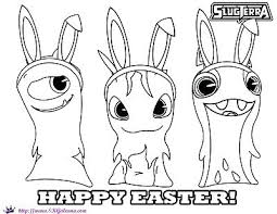 Full Image For Easter Coloring Pages Free Bunny Colouring Printable Happy Slugterra