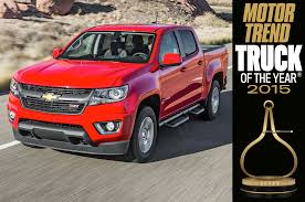 Chevy Colorado – 2015 Motor Trend Truck Of The Year | Lindsay ... Chevrolets Colorado Wins Rare Unanimous Decision From Motor Trend Dulles Chrysler Dodge Jeep Ram New 2018 Truck Of The Year Introduction Chevrolet Z71 Duramax Diesel Interior View Chevy Modern 2006 1500 Laramie 2012 Ford F150 Youtube Super Duty Its First Trucks Have Been Named Magazines Toyota Tacoma Selected As 2005 Motor Trend Winners 1979present Ford F 250 Price Lovely 2017 Car Wikipedia