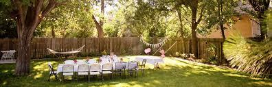 10 Unique Backyard Party Ideas