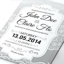 Elegant Wedding Invitation Invitations Templates Free Sample Example Printable Rustic