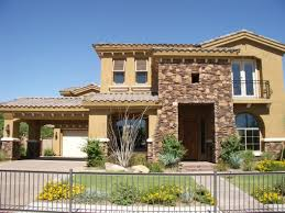 Tuscan Decorating Ideas For Homes by Mediterranean Tuscan Style Of Design Exterior With Beautiful