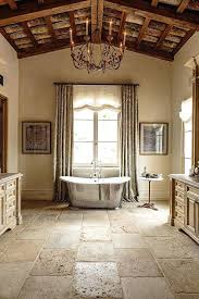 image of modern country bathroom vanitiesfrench tile ideas