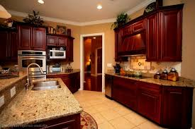 Kitchen Paint Colors With Light Cherry Cabinets by Kitchen Extraordinary Dark Cherry Kitchen Cabinets Wall Color