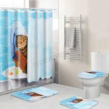 möbel wohnen wasserfest badezimmer duschvorhang rutschfest