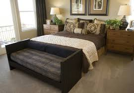 Decorative Pillows Again Create A Faux Headboard And Add To The Room With Bold Patterns