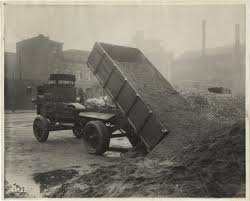100 Rainier Truck And Trailer 1910 Dump Truck Goodwin Sand Gravel Company DPL DAMS