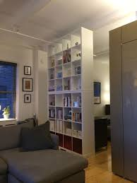 Room Divider Curtain Ikea by Inspiring Living Room Divider Ikea Bookcase Divider With Curtain