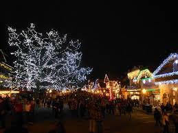 Tree lighting ceremony Leavenworth WA Picture of Waterfront