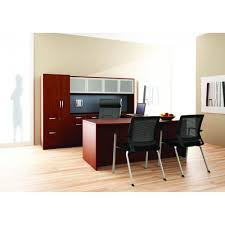 Jofco Desk And Credenza by Friant Gitana Laminate Office Furniture Nfl Officeworks