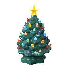 Nostalgic Ceramic Lighted Christmas Tree