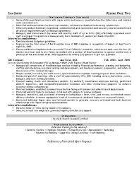 Transform Resume Summary Examples Trainer In Hospitality Rh Danaya Us