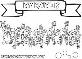 Printable Name Coloring Pages Breanna