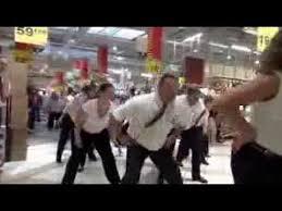 flashmob officiel auchan val d europe