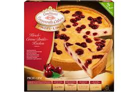 kirsch creme brulee kuchen für großverbraucher coppenrath