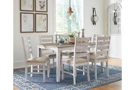 Skempton Dining Room Table And Chairs (Set Of 7) | Ashley ... How To Decorate A Small Living Room 23 Inspirational Purple Interior Designs Big Chill Teen Bedrooms Ideas For Decorating Rooms Hgtv Large Balcony Design Modern Trends In Fniture And Chair Wikipedia Hang Wall Haings Above Couch Home Guides Sf Gate Skempton Ding Table Chairs Set Of 7 Ashley 60 Decor Shutterfly Teenage Bedroom Color Schemes Pictures Options 10 Things You Should Know About Haing Wallpaper Diy Inside 500 Living Rooms An Aessment Global Baby Toddler Swing A Beautiful Mess