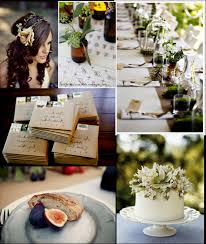 Rustic Table Settings For Wedding Party Decoration