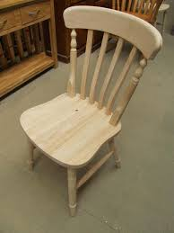 Farmhouse Beech Slat-Back Chairs- Unfinished Buy Online