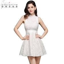 popular ivory lace cocktail dress buy cheap ivory lace cocktail