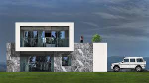 100 Minimalist Houses Residence 5 Marking Plan