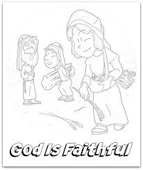 Ruth Coloring Pages Boaz Page