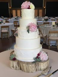 Interesting Rustic Wedding Cake Stand Wood Centerpiece Log Slice