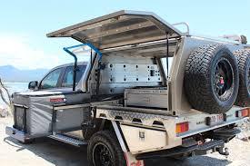 100 Canvas Truck Cap Motor Vehicle Canopies Norweld Aluminium Fabrication