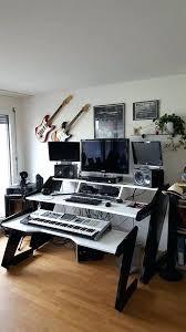 Music Studio Desk Diy Music Corner Production Desk Some Ideas