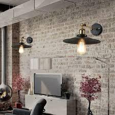 dorothy 1 light black edison wall sconce with light bulb free