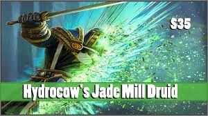 r druid deck kft hydrocow s jade mill druid hearthstone deck showcase