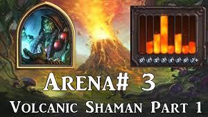 Alarm O Bot Deck Lich King by Hearthstone Arena 3 Part 1 Bloodlust Volcano Lightning Shaman