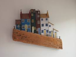 Driftwood Christmas Trees Cornwall by Life The Universe And Everything Driftwood Art And William