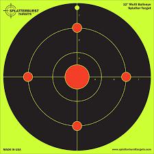 Halloween Contact Lenses Target by 25 Pack 12 Multi Bullseye Splatterburst Target Instantly See