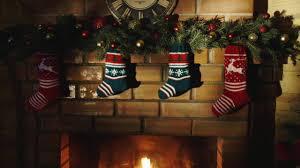 🎄 Christmas Wallpaper Fireplace Scene 🔥 & Blizzard Storm Sounds