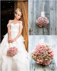 Wedding Trend Report Fabric Flowers