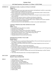 Download Contract Manager Senior Resume Sample As Image File