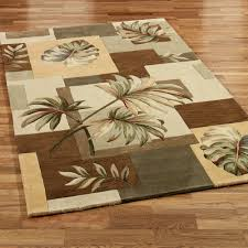 Bed Bath And Beyond Bathroom Rugs by Tropical Area Rugs Leaf Wool U2013 Home Design And Decor