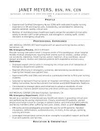 Monster Resume Examples Hospital Nursing Nurse Sample