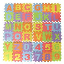 Foam Floor Mats Baby by Children Mini Eva Foam Alphabet Letters Numbers Floor Soft Baby