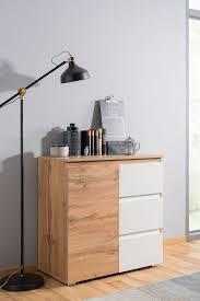 newroom kommode sideboard honig eiche weiß modern landhaus skandinavisches design wohnzimmer schlafzimmer flur esszimmer kaufen