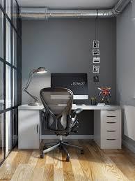 petit bureau chambre intérieur design moderne pour un petit appartement à minsk