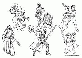 Star Wars Coloring Pages Free Printable For Kids Kid